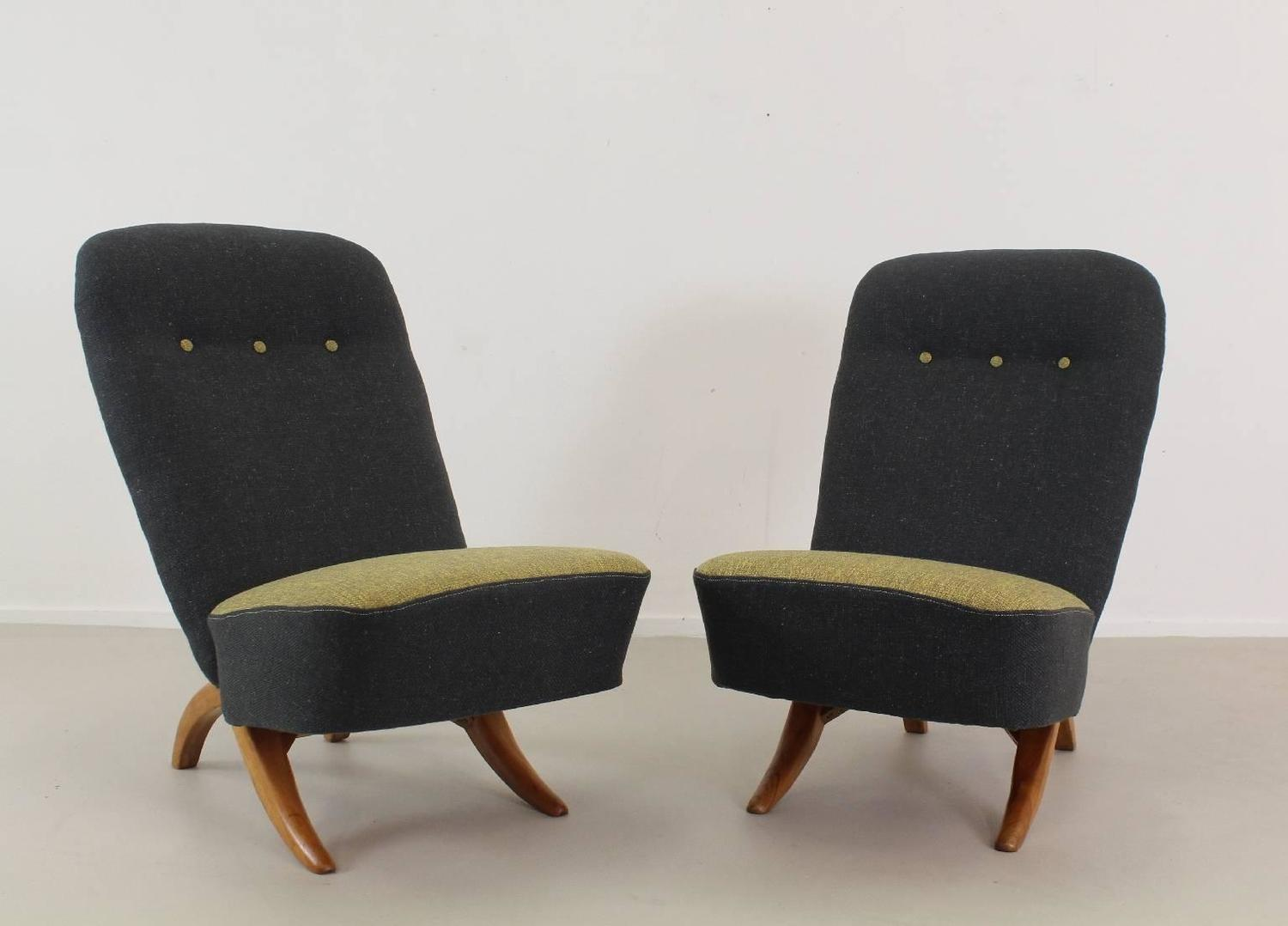 Intelligent Early Two Pieces Easy Chair Bytheo Ruth For Artifort Dux For Sale At 1stdibs