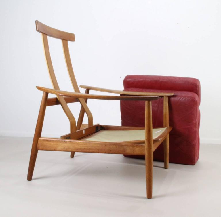 Matching Pair of Lounge Easy Chair by Arne Vodder 5