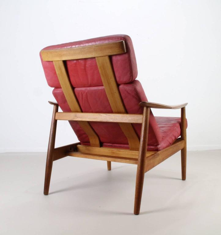 Matching Pair of Lounge Easy Chair by Arne Vodder 7