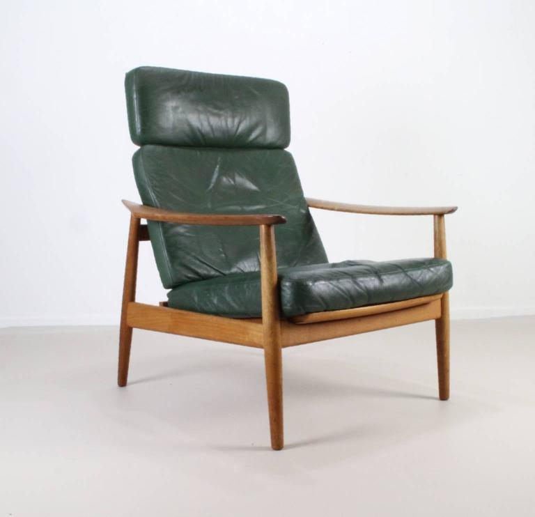 Matching Pair of Lounge Easy Chair by Arne Vodder 9