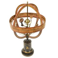 Very Rare Antique Orrery Made in 1856