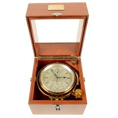 Marine Chronometer Signed Thomas Mercer Ltd.