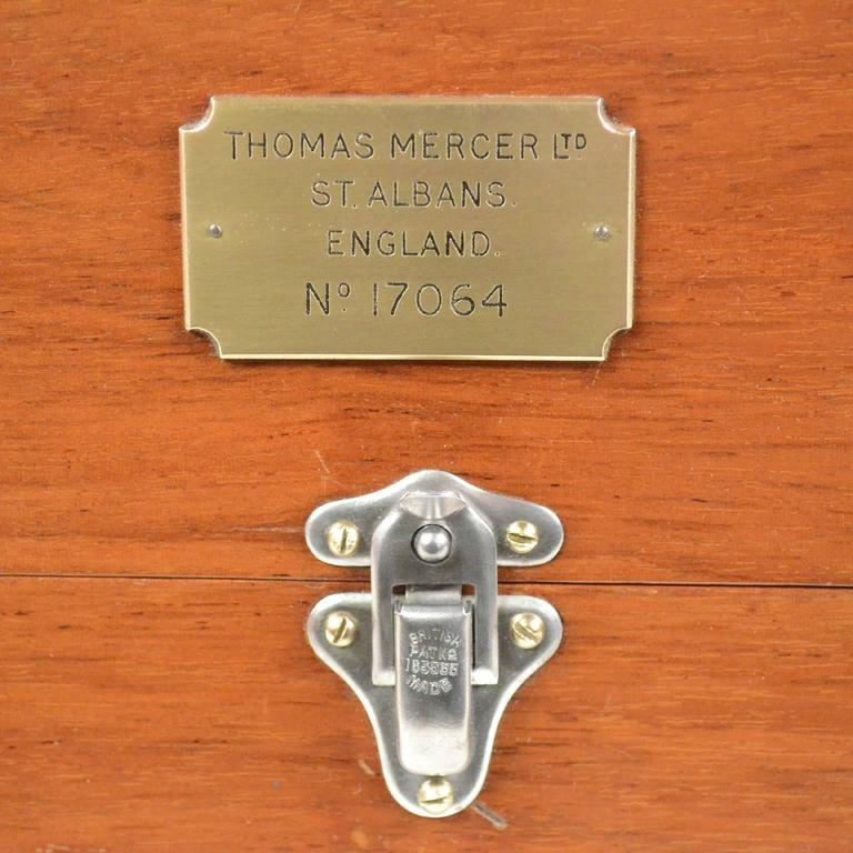 Marine Chronometer Signed Thomas Mercer Ltd. For Sale 3