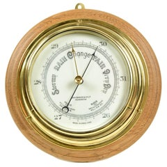 Aneroid Barometer Made in the Early 1900