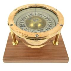 Nautical Compass Made at the End of the 19th Century