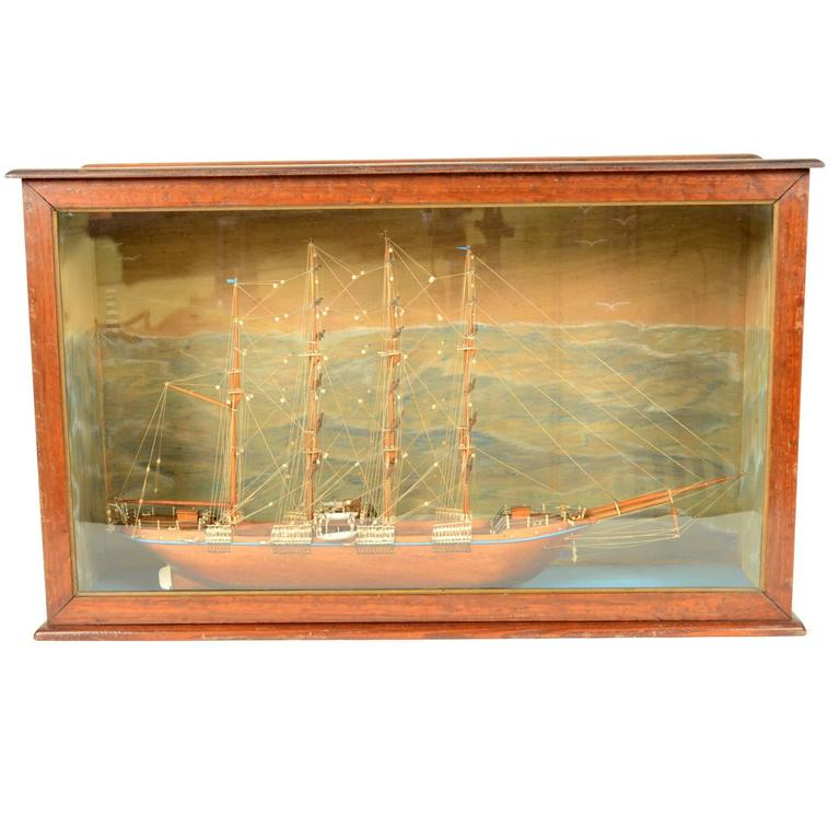 Scale model of a ship french manufacture of 1950s for sale for Scale model furniture