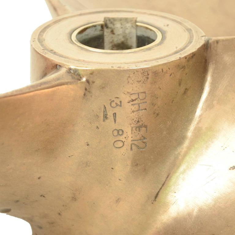 Big Three-Blade Propeller Made in the 1930s For Sale 1