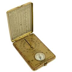 Compass and Sundial Together 1920s