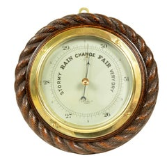 English Aneroid Barometer made by W.S. Cowell ltd Ipswich in the early 1900s