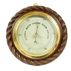English Aneroid Barometer, early 1900s