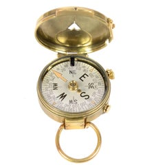 Magnetic Compass for Nautical Bearing Made in 1918 for the U.S. Engineer Corps
