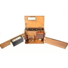 Tachometer Placed in Oakwood Box of the Second Half of the 19th Century