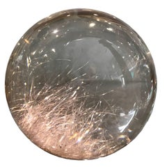 Rock Crystal Sphere
