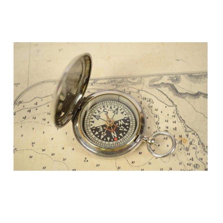 British Pocket Compass for RAF Officers, 1915 For Sale