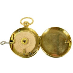 Watch for Night-Watchman, Brass, End of the 19th Century