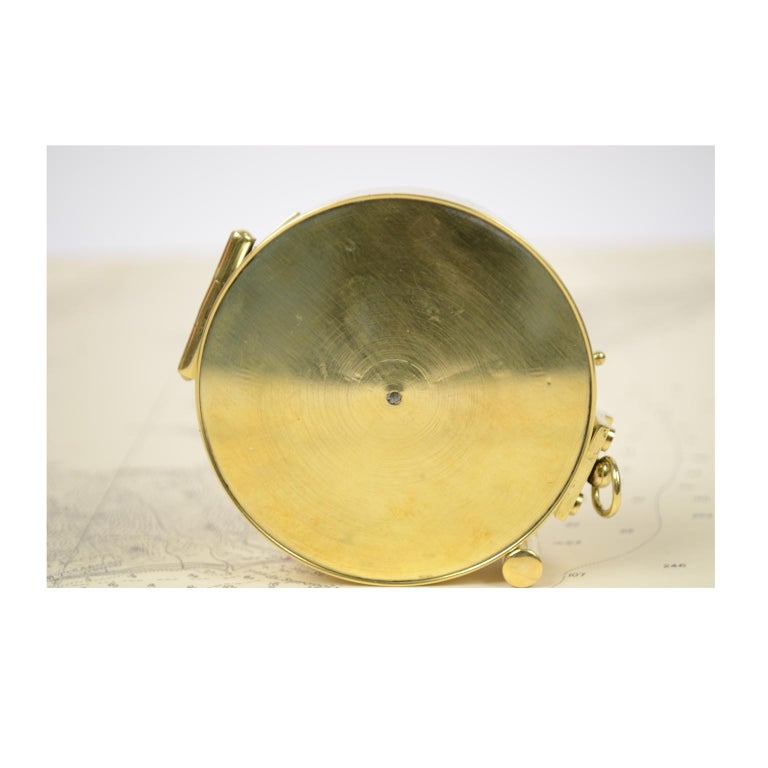 Magnetic Compass for Topographers Made of Brass For Sale 4