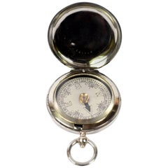 Pocket Compass Used by Royal Air Force Officers During the First World War