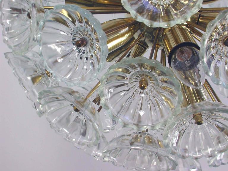 1960s German Sputnik Dandelion Twelve-Light Chandelier 5