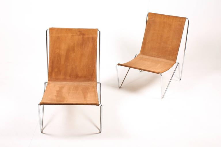 pair of original bachelor chairs by verner panton for sale at 1stdibs. Black Bedroom Furniture Sets. Home Design Ideas
