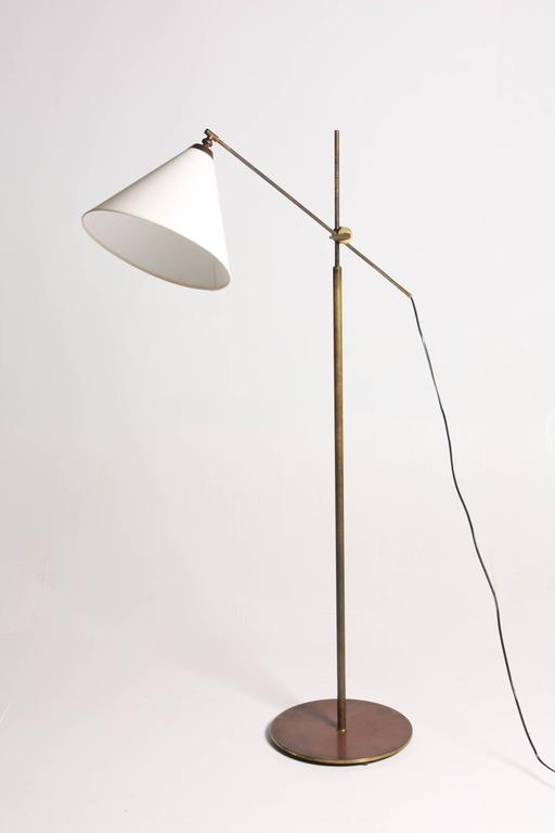 Vaterpump floor lamp by le klint for at 1stdibs