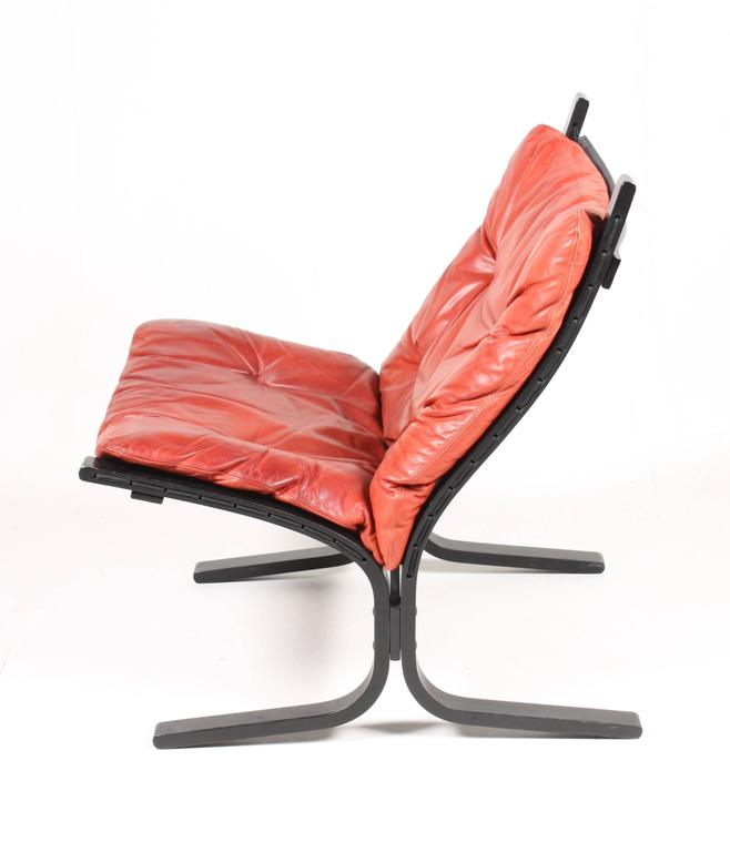 Scandinavian Modern Group of Four Lounge Chairs by Ingmar Relling