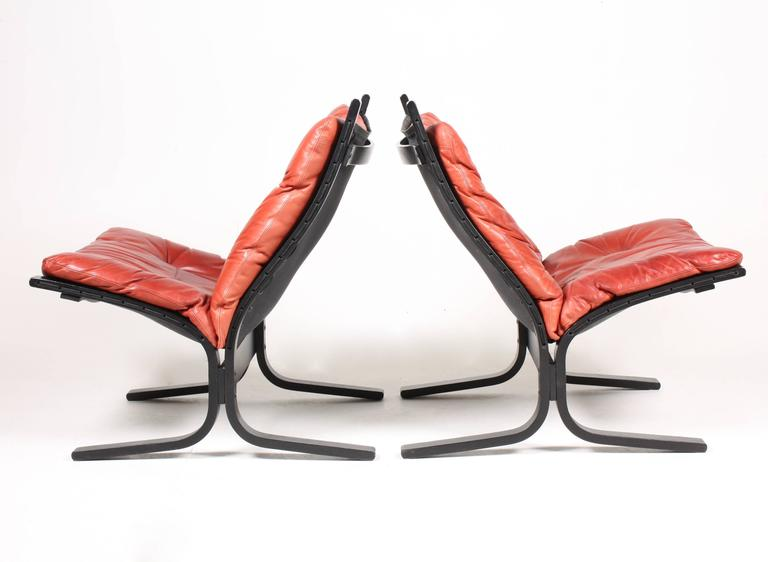 Norwegian Group of Four Lounge Chairs by Ingmar Relling