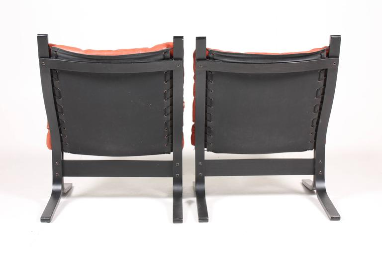 Group of Four Lounge Chairs by Ingmar Relling In Excellent Condition In Lejre, DK