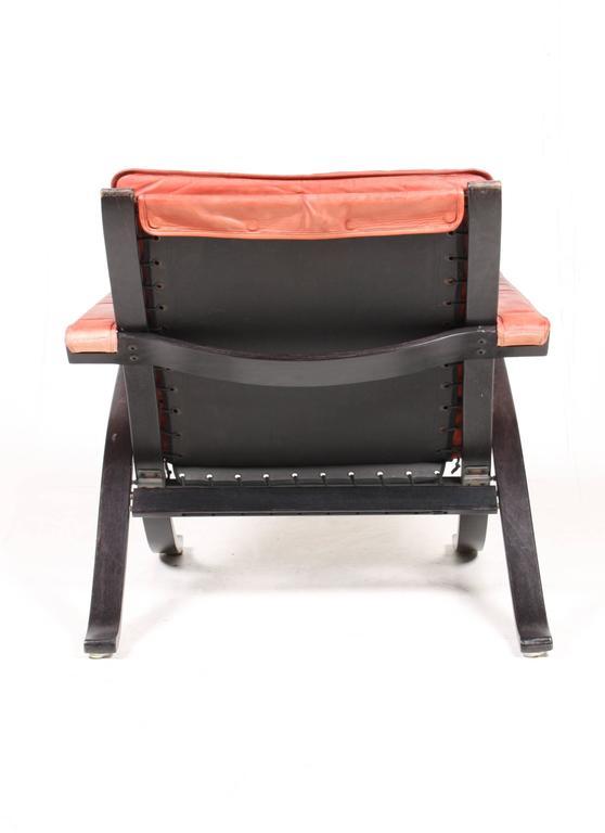 Scandinavian Modern Pair of Lounge Chairs Model
