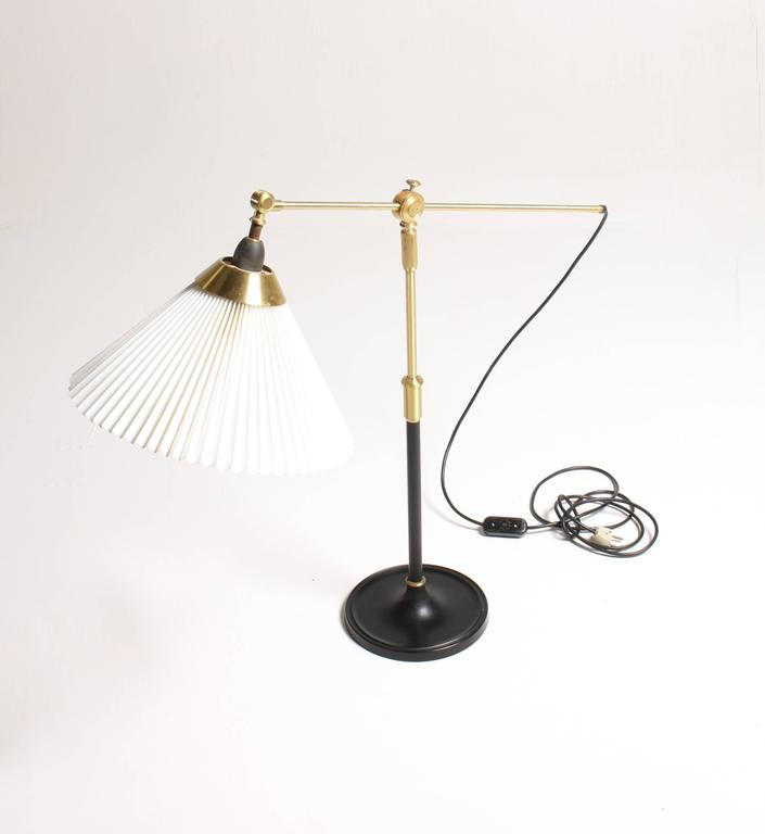 Scandinavian Modern Adjustable Floor Lamp by Le Klint For Sale