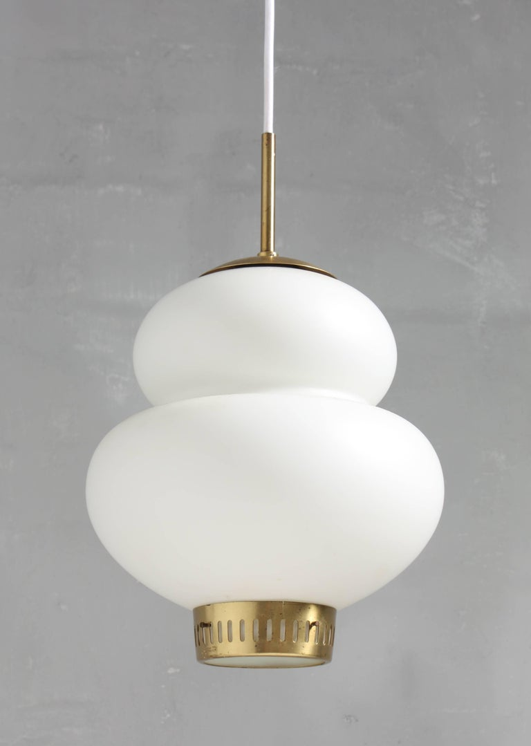 Peanut Pendant by Bent Karlby In Excellent Condition In Lejre, DK