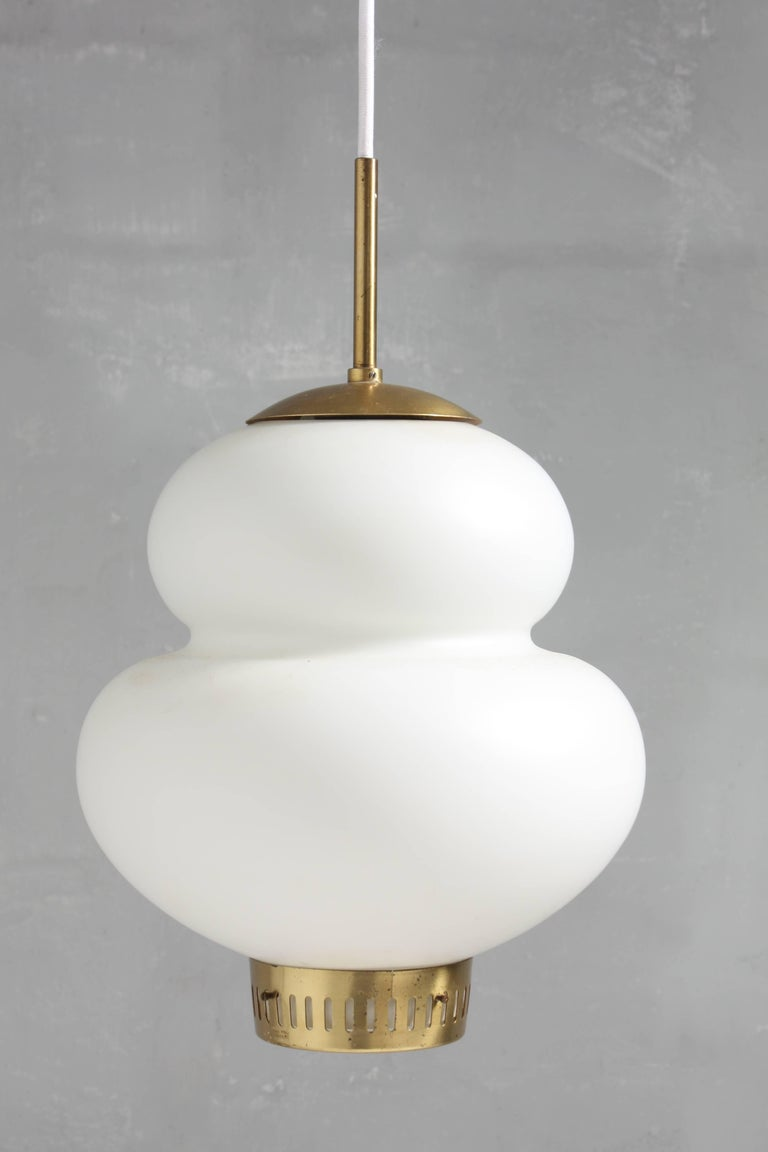 Mid-20th Century Peanut Pendant by Bent Karlby