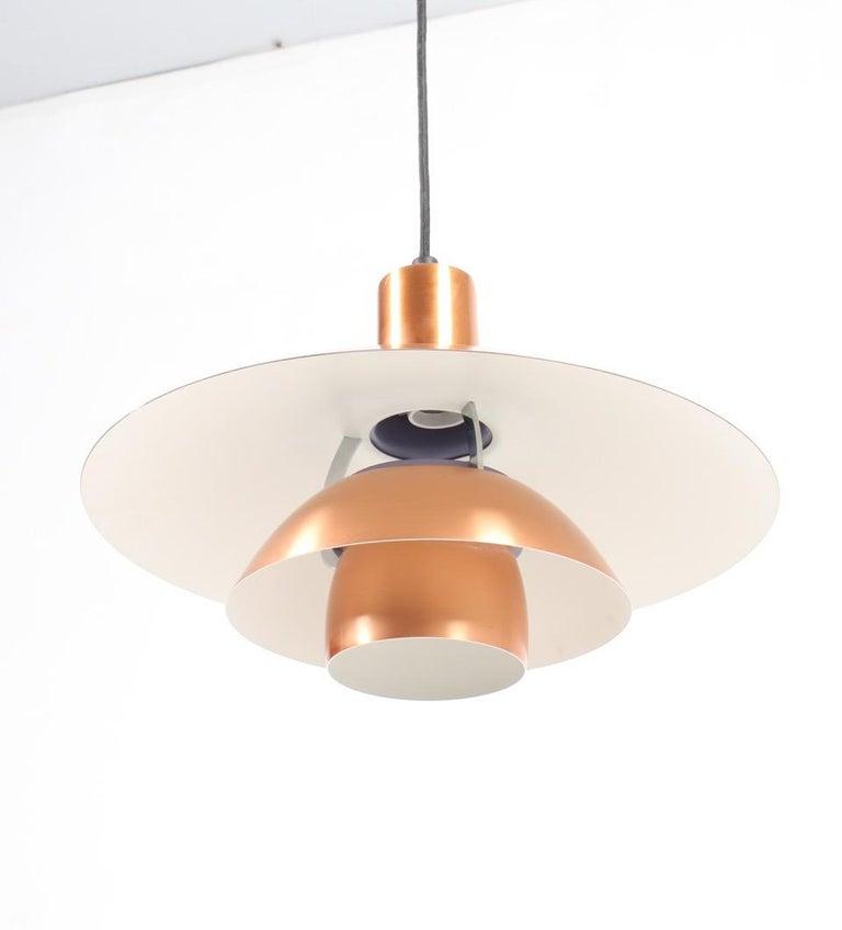 Scandinavian Modern Copper Pendant by Poul Henningsen For Sale