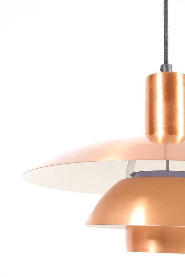 Danish Copper Pendant by Poul Henningsen For Sale