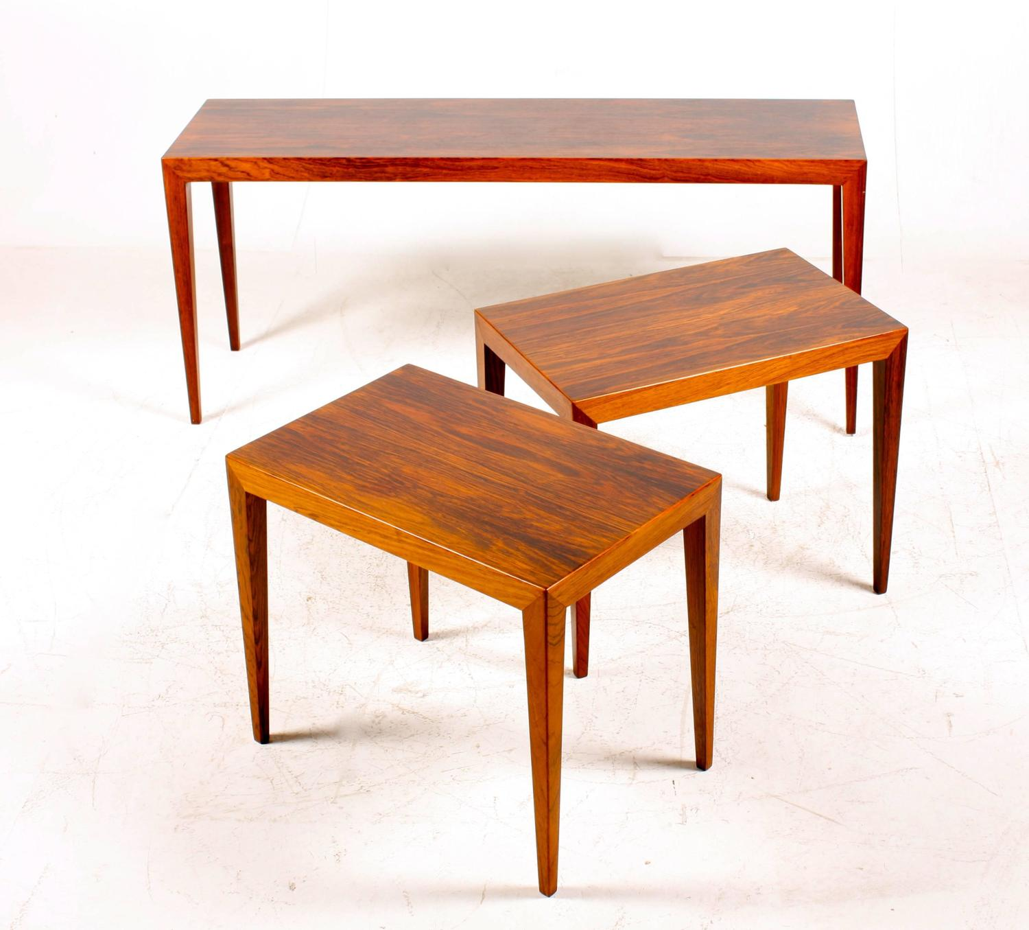 Superb img of Nest of Tables by Haslev For Sale at 1stdibs with #BC3905 color and 1500x1355 pixels