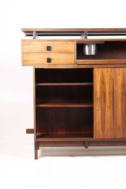 Danish Rosewood Dry Bar, 1960s For Sale 1