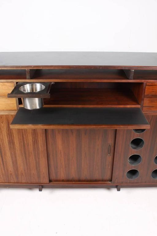 Danish Rosewood Dry Bar, 1960s For Sale 2