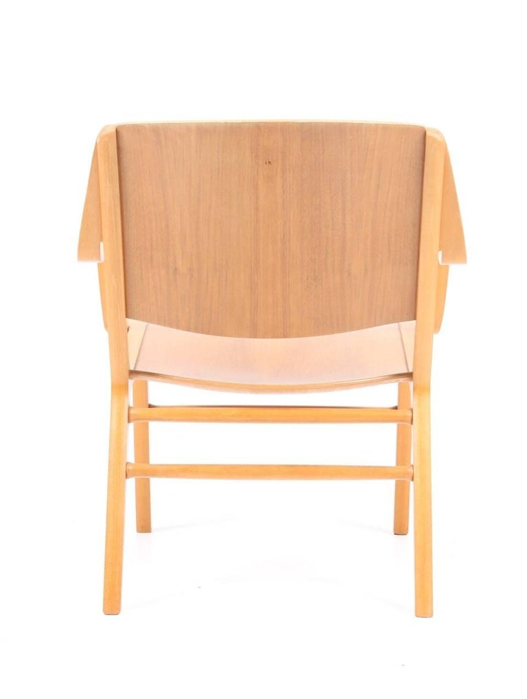 Danish AX Lounge Chair by Hvidt & Mølgaard For Sale
