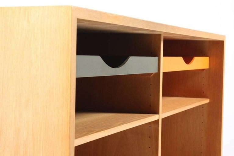 Swedish Oak Bookcase by Børge Mogensen For Sale
