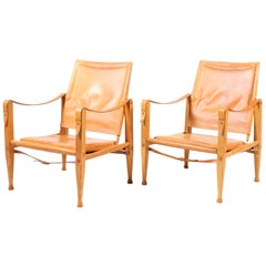 Pair of Safari Chairs by Klint