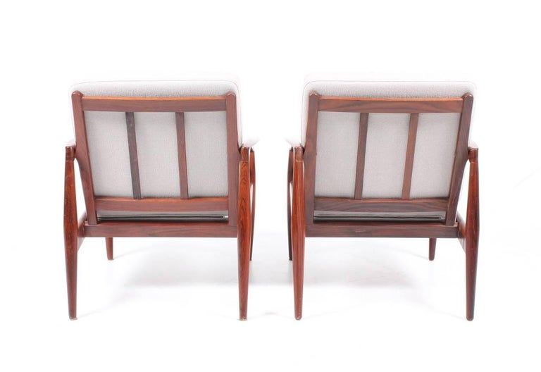 Danish Pair of Lounge Chairs by Kai Kristiansen