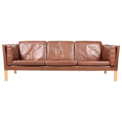 Ivan Schlechter Sofa in Patinated Leather