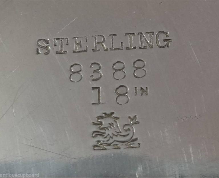 Redlich & Co. Sterling Silver Centerpiece Bowl Pierced Hollowware For Sale 2