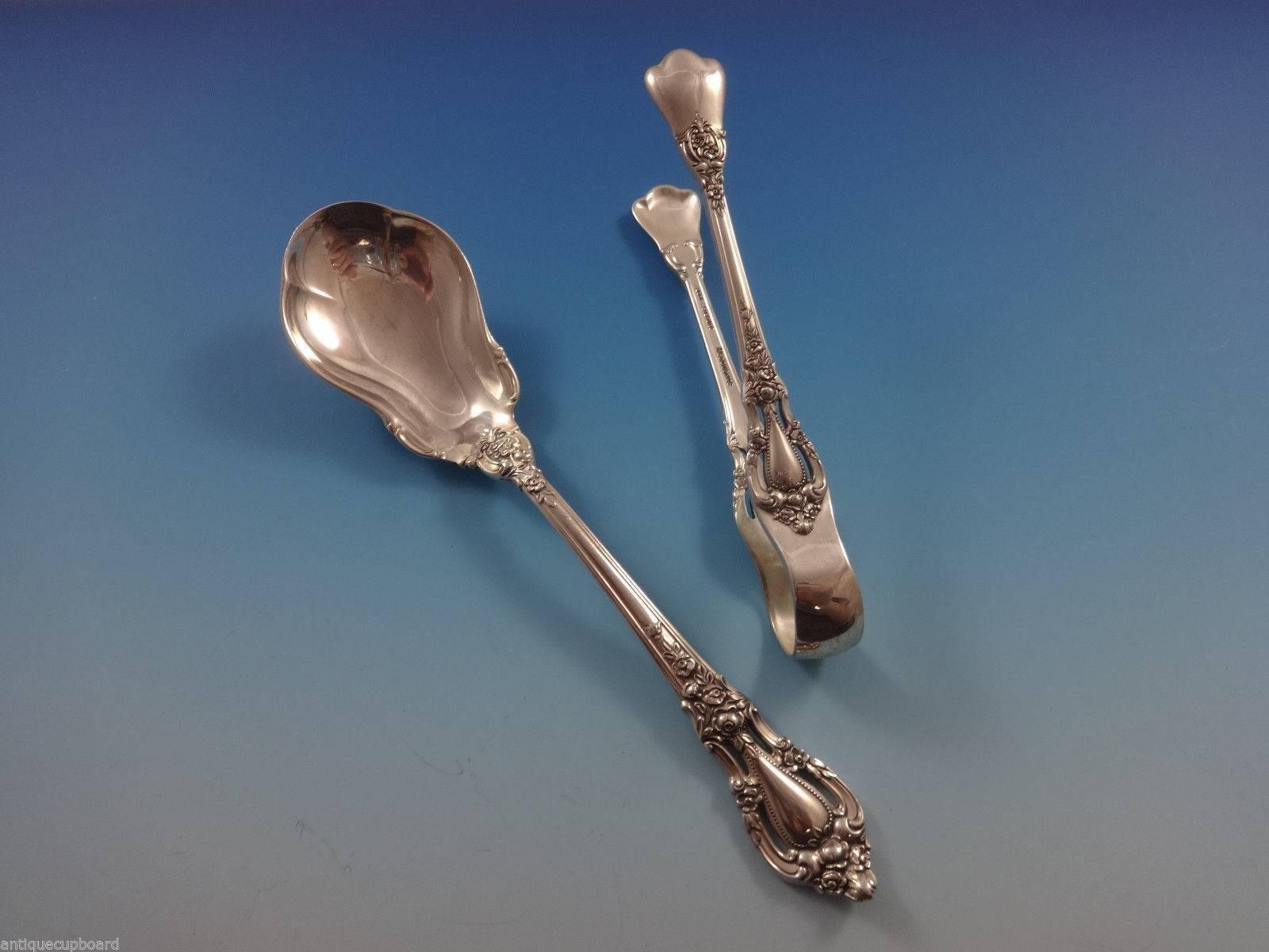 Rondelay by Lunt Sterling Silver Nut Spoon Pierced 6