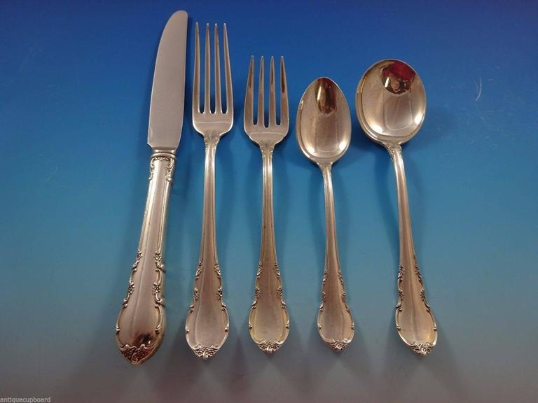 Lunt silverware modern victorian decor