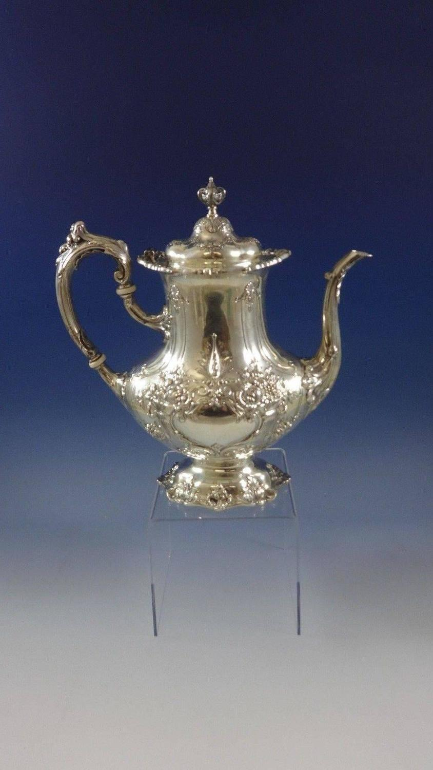 Francis I By Reed And Barton Sterling Silver Tea Set