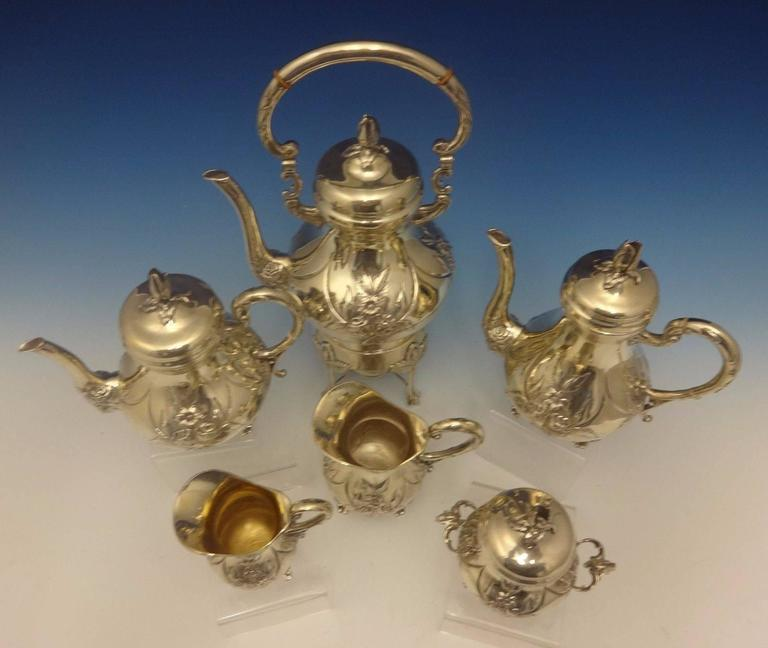 German silver.