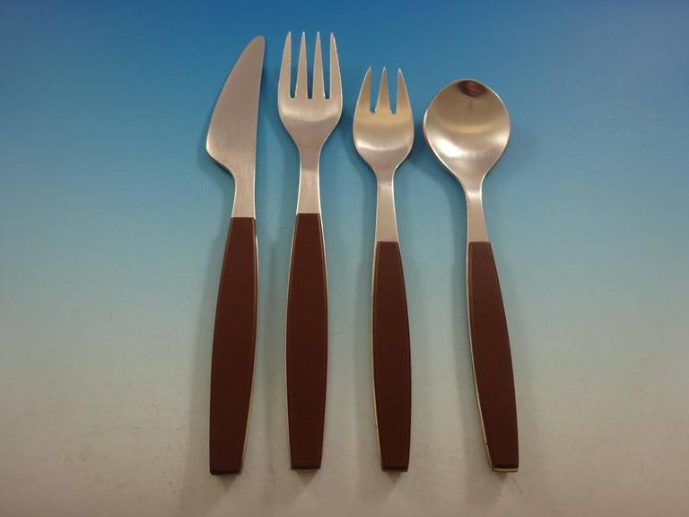 41a47a1a828c Georg Jensen Mitra Stainless Steel Flatware.Georg Jensen Mitra ...
