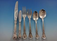 Chantilly by Gorham Sterling Silver Flatware Set 12 Service Luncheon, 80 Pieces