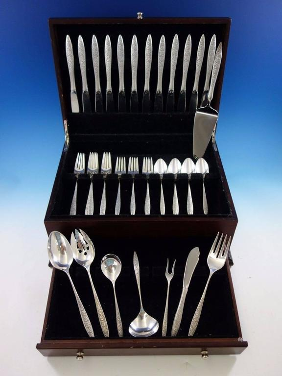 Spanish Lace by Wallace Sterling Silver Flatware Set for ...