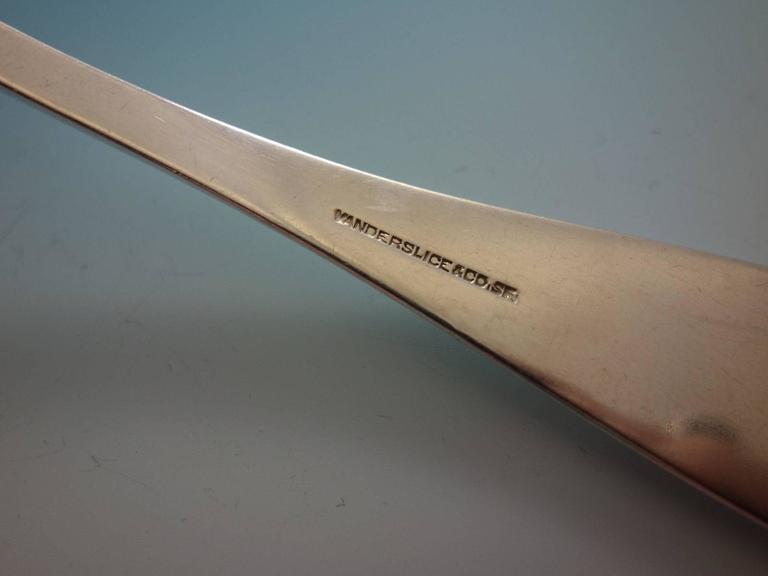 Yerba Buena by Vanderslice Sterling Silver Flatware Set 41 Pcs California Silver For Sale 3
